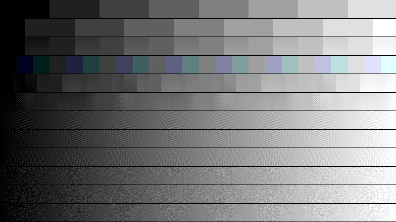 dithering: Color Banding Removal